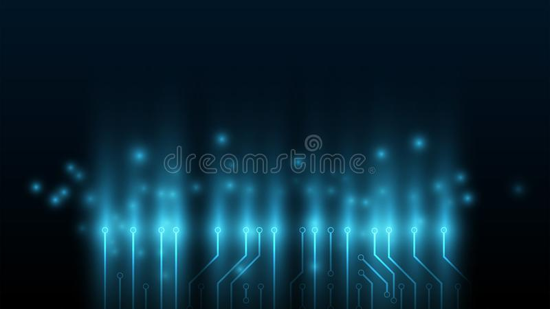 το υπόβαθρο τεχνολογίας κυκλωμάτων, υπόβαθρο επεξεργαστών υψηλής τεχνολογίας, υπόβαθρο για τις πληροφορίες τεχνολογίας, ταχύτητα  απεικόνιση αποθεμάτων