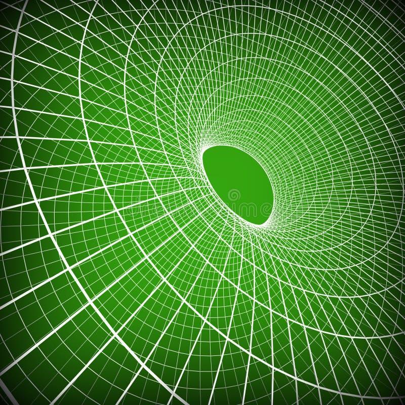Το υπόβαθρο τεχνολογίας δείχνει το κύμα ψηφιακό και το έργο τέχνης διανυσματική απεικόνιση