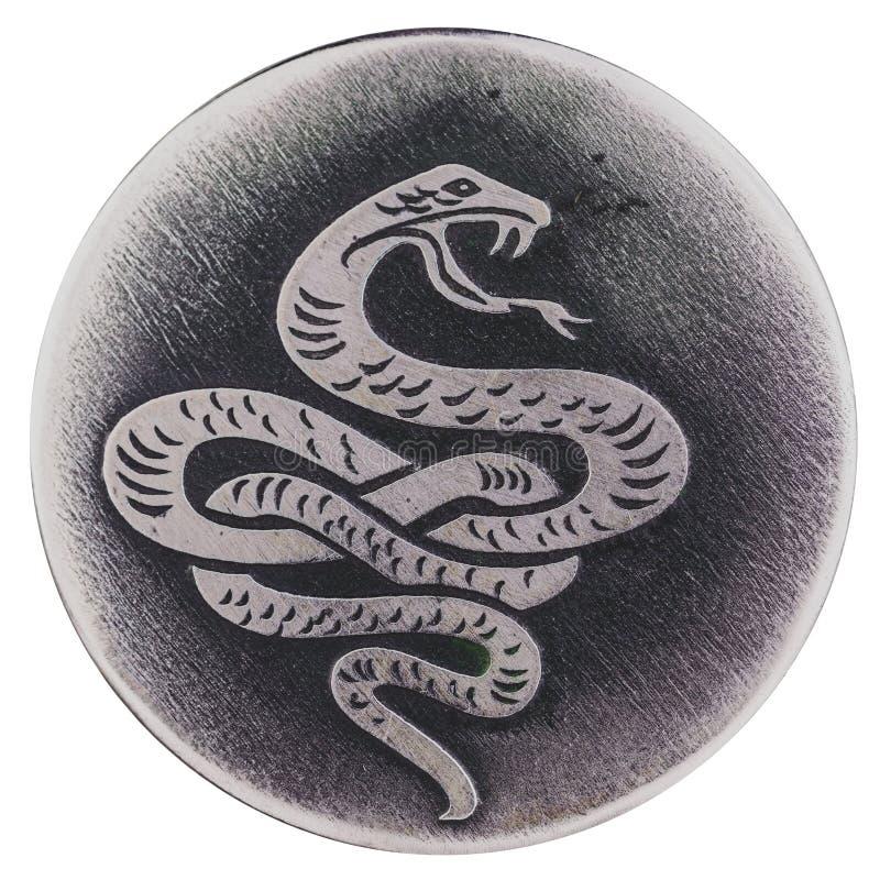 Το φίδι - ένα σύμβολο της φρόνησης και της ζωτικότητας, ζωή φυλάκων, υγεία στοκ εικόνες