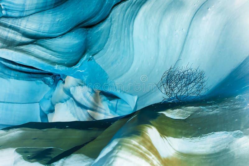 Το φαράγγι αντιλοπών, σελίδα, Αριζόνα, ΗΠΑ Αφηρημένο φανταστικό Colo στοκ εικόνες