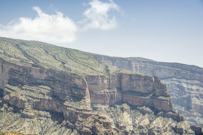 Το φαράγγι Jebel υποκρίνεται στοκ εικόνες