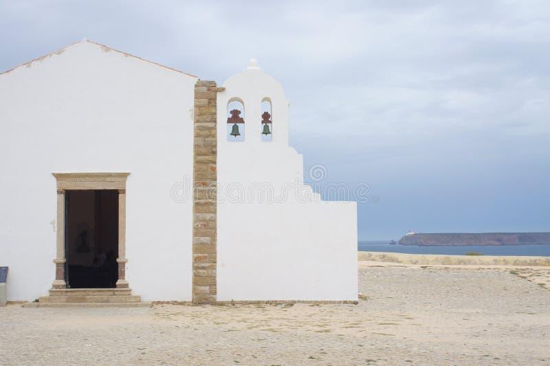 Το Φορταλέζα Sagres σε Sagres, Πορτογαλία στοκ εικόνες
