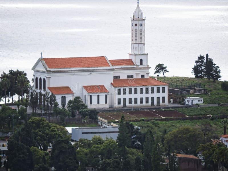 Το Φουνκάλ είναι η πρωτεύουσα του νησιού της Μαδέρας εδώ είναι πολλές εκκλησίες στην πόλη και τις γειτονιές στοκ εικόνες με δικαίωμα ελεύθερης χρήσης