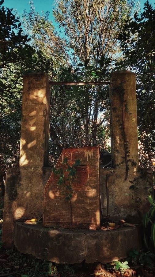 Το φρεάτιο των μνημών στοκ φωτογραφία με δικαίωμα ελεύθερης χρήσης