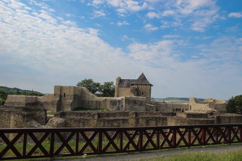 Το φρούριο καθισμάτων Suceava στοκ εικόνα με δικαίωμα ελεύθερης χρήσης