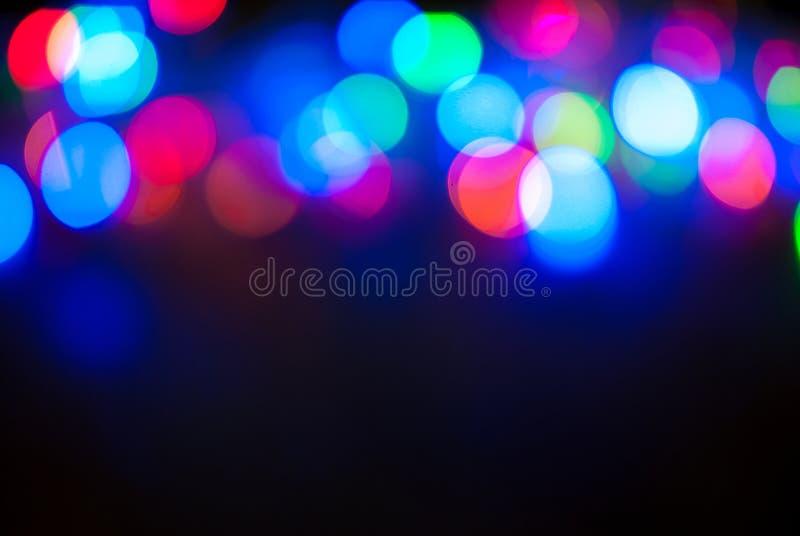 Το φως ακτινοβολεί εκλεκτής ποιότητας υπόβαθρο, bokeh υπόβαθρο, Χρόνια πολλά, ημέρα βαλεντίνων, φω'τα Χριστουγέννων στοκ εικόνα με δικαίωμα ελεύθερης χρήσης