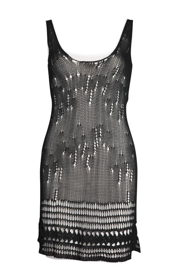 το φόρεμα έπλεξε μοντέρνο στοκ φωτογραφίες