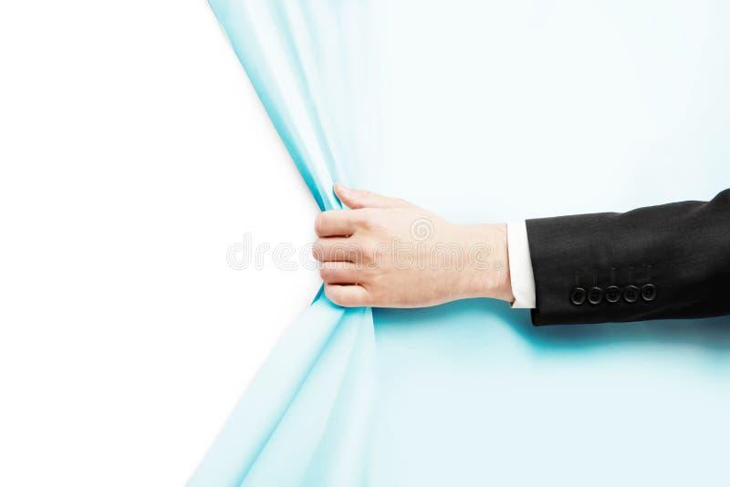 Download Το χέρι γυρίζει τη Λευκή Βίβλο Στοκ Εικόνα - εικόνα από ανοικτός, σελίδα: 62705501