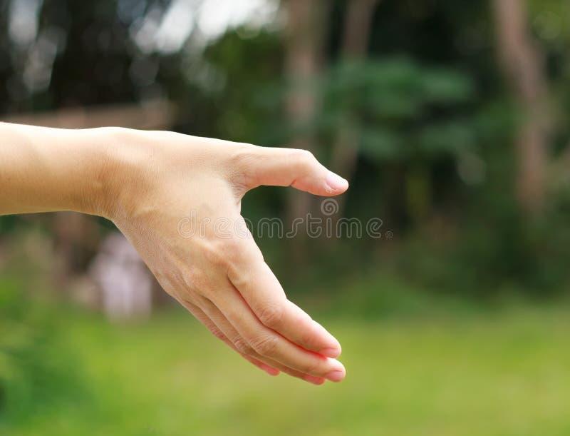 το χέρι κάνει μια μισή καρδιά στοκ φωτογραφίες με δικαίωμα ελεύθερης χρήσης
