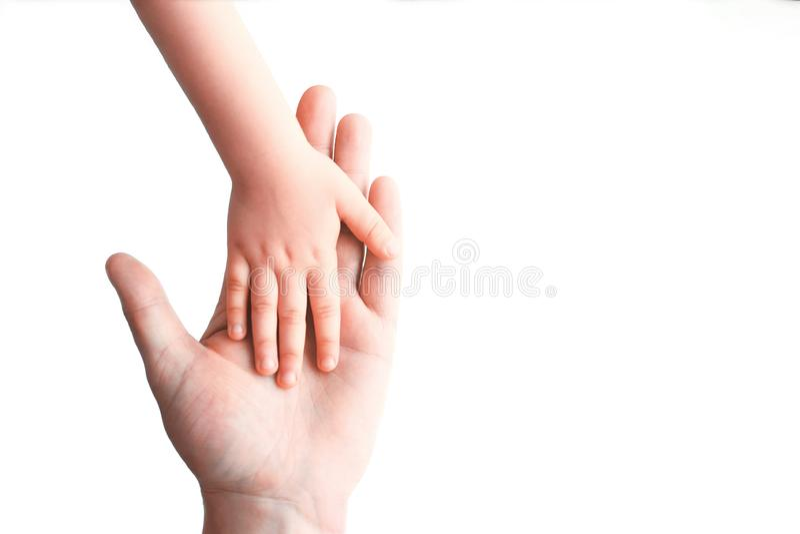 Το χέρι του μωρού βρίσκεται σε ετοιμότητα στοκ εικόνα με δικαίωμα ελεύθερης χρήσης