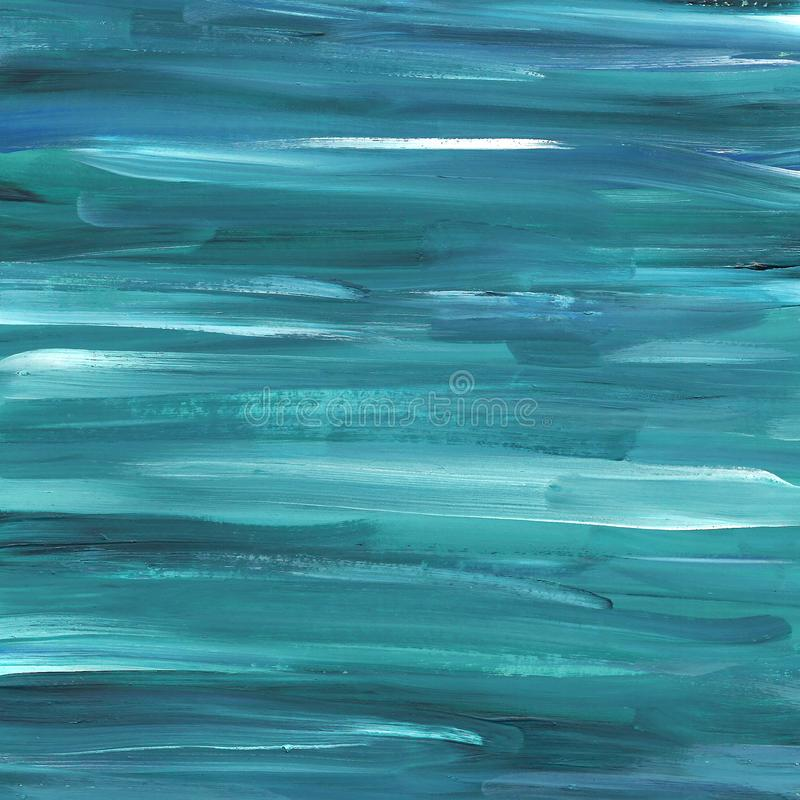 Το χέρι χρωμάτισε το nevy μπλε και τυρκουάζ αφηρημένο υπόβαθρο στοκ εικόνα