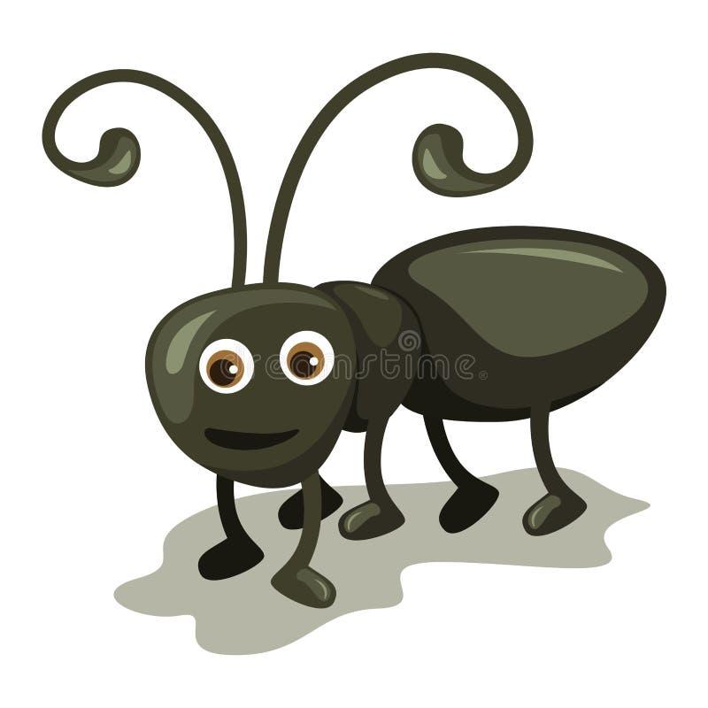 Το χαριτωμένο μυρμήγκι στοκ εικόνες με δικαίωμα ελεύθερης χρήσης