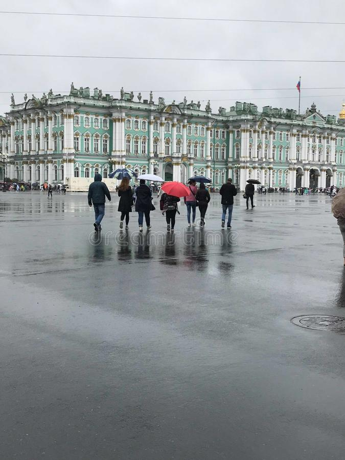 Το χειμερινό παλάτι στοκ εικόνες