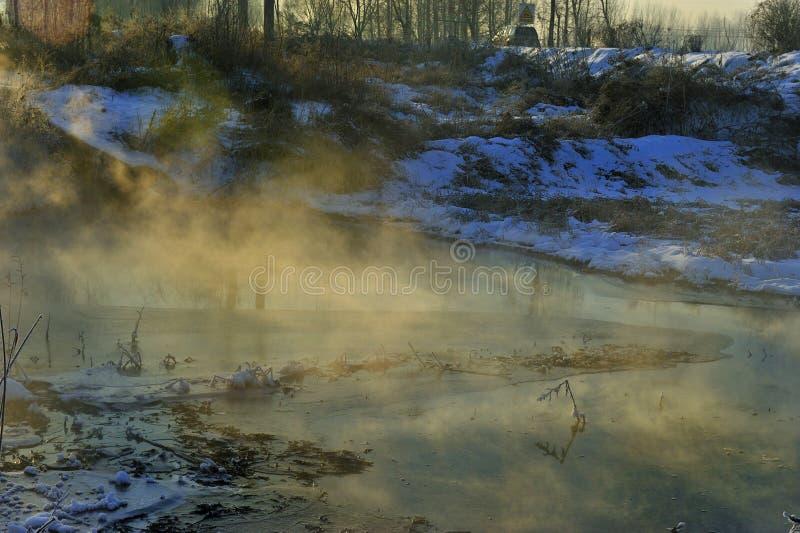 Το χειμερινό πρωί στοκ φωτογραφία με δικαίωμα ελεύθερης χρήσης