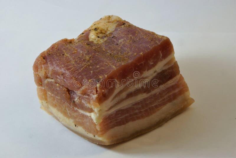 Το χοιρινό κρέας είναι ένα μαγειρικό και βιομηχανικό όνομα για το κρέας χοίρων Ο καταναλωμένος τύπος κρέατος στοκ φωτογραφία με δικαίωμα ελεύθερης χρήσης