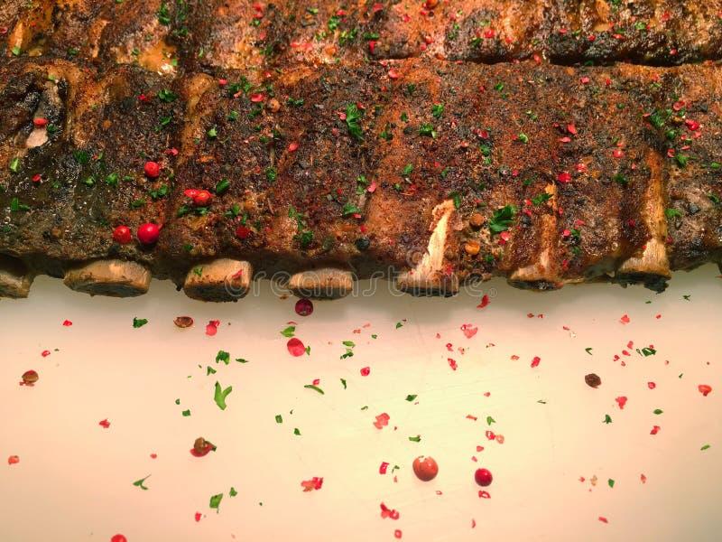 Το χοιρινό κρέας σχίζει τα τηγανητά στοκ φωτογραφία με δικαίωμα ελεύθερης χρήσης