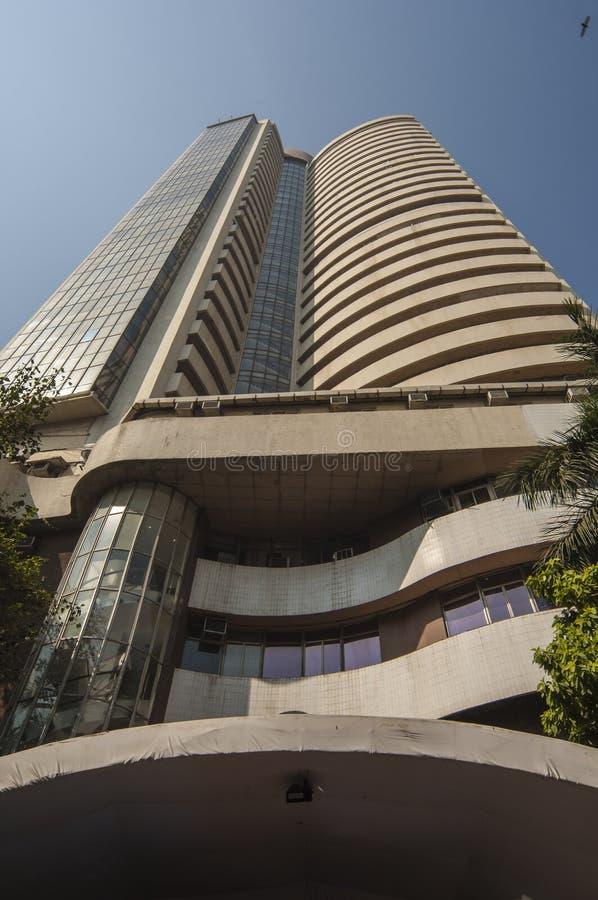 Το χρηματιστήριο της Βομβάη σε Mumbai στοκ φωτογραφίες με δικαίωμα ελεύθερης χρήσης