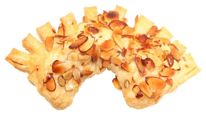 Το χρυσό μέλι αμυγδάλων αντέχει τη ζύμη νυχιών στοκ φωτογραφία με δικαίωμα ελεύθερης χρήσης