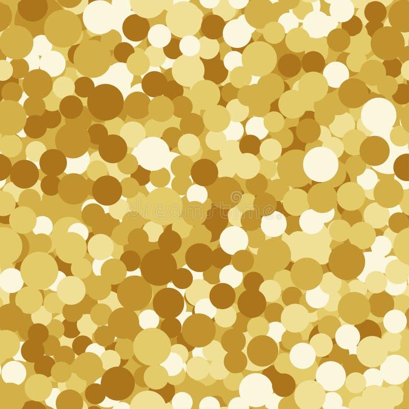 Το χρυσό σπινθήρισμα ακτινοβολεί άνευ ραφής υπόβαθρο διανυσματική απεικόνιση