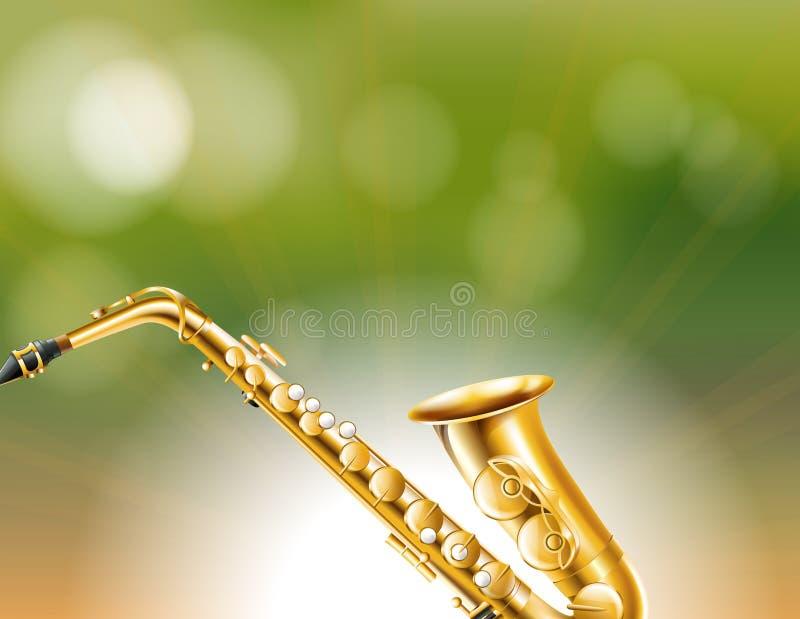 Το χρυσό όργανο κωνικός-conical-bore ελεύθερη απεικόνιση δικαιώματος