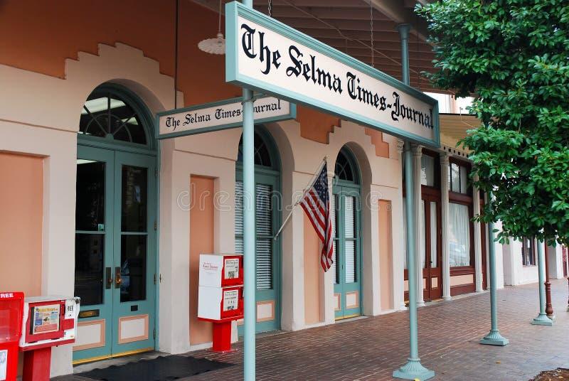 Το χρόνος-περιοδικό Selma στοκ εικόνες με δικαίωμα ελεύθερης χρήσης