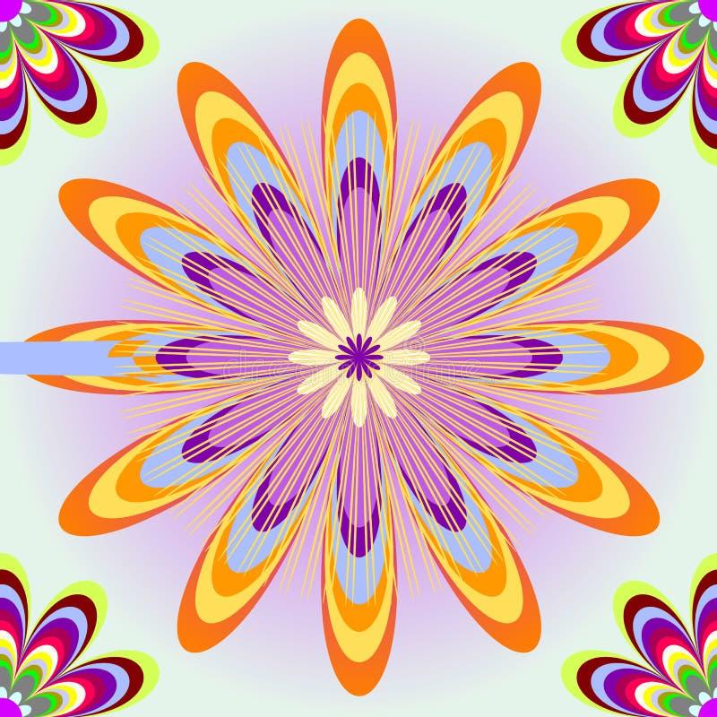 Download το χρώμα ανθίζει άνευ ραφής Απεικόνιση αποθεμάτων - εικονογραφία από λουλούδι, άσπρος: 13185675