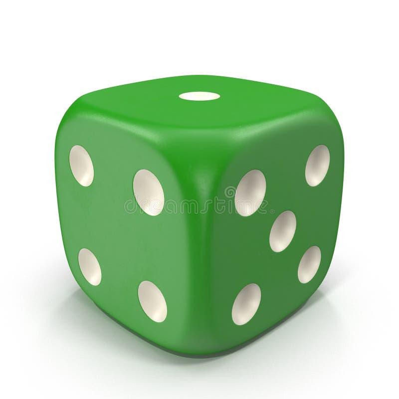 Το χρώμα χωρίζει σε τετράγωνα απομονωμένος στο λευκό τρισδιάστατη απεικόνιση απεικόνιση αποθεμάτων