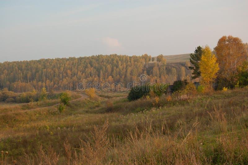 Το χωριό, Σιβηρία στοκ φωτογραφία με δικαίωμα ελεύθερης χρήσης