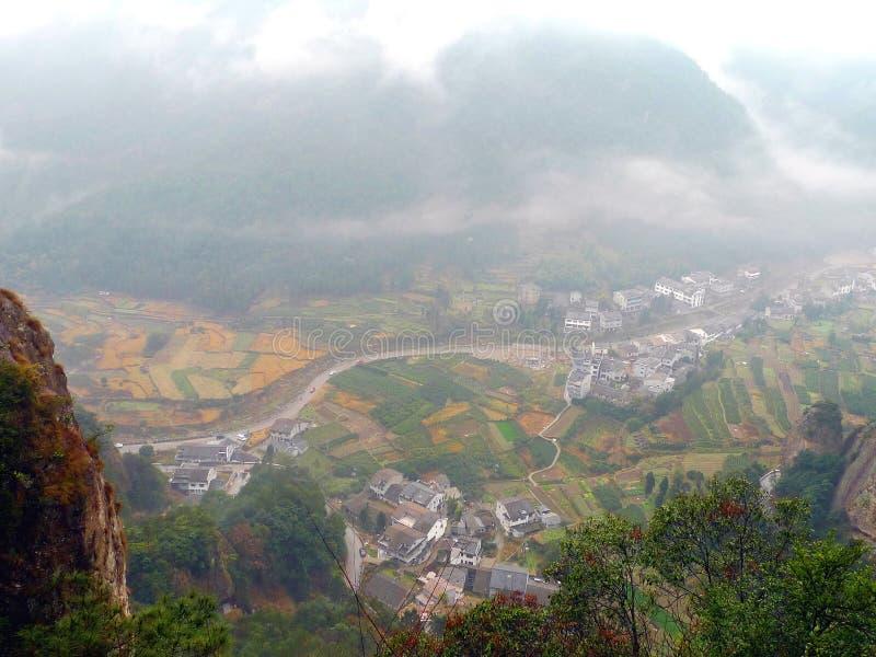 Κινεζικό χωριό στοκ φωτογραφία με δικαίωμα ελεύθερης χρήσης