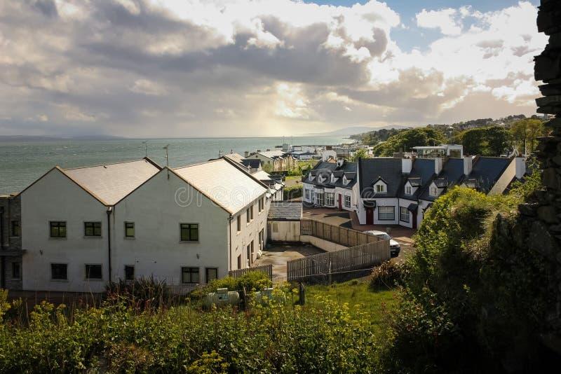 Το χωριό Greencastle Inishowen Donegal Ιρλανδία στοκ εικόνες με δικαίωμα ελεύθερης χρήσης
