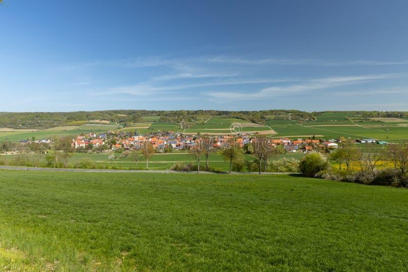Το χωριό Netra σε Hesse στοκ φωτογραφίες με δικαίωμα ελεύθερης χρήσης