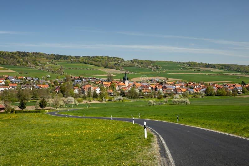 Το χωριό Netra σε Hesse στοκ εικόνες με δικαίωμα ελεύθερης χρήσης