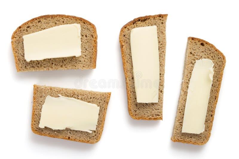 το ψωμί που απομονώθηκε τ&o στοκ φωτογραφίες