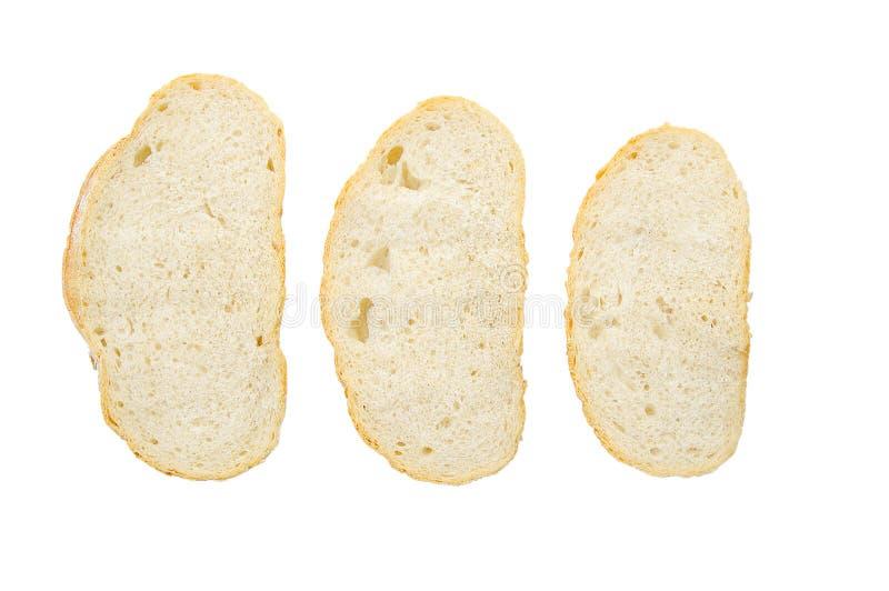 το ψωμί τεμαχίζει το σίτο τρία στοκ εικόνες με δικαίωμα ελεύθερης χρήσης