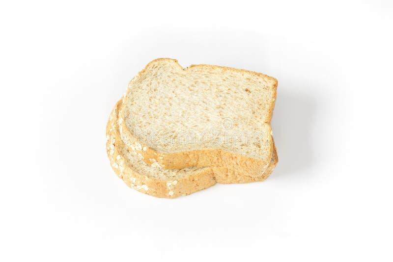 το ψωμί τεμαχίζει το σύνολ στοκ εικόνες με δικαίωμα ελεύθερης χρήσης