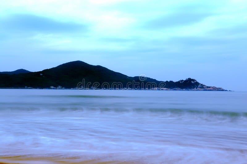 Το όμορφο τοπίο της παραλίας στο νησί nanao shantou, guangdong, Κίνα στοκ εικόνα με δικαίωμα ελεύθερης χρήσης