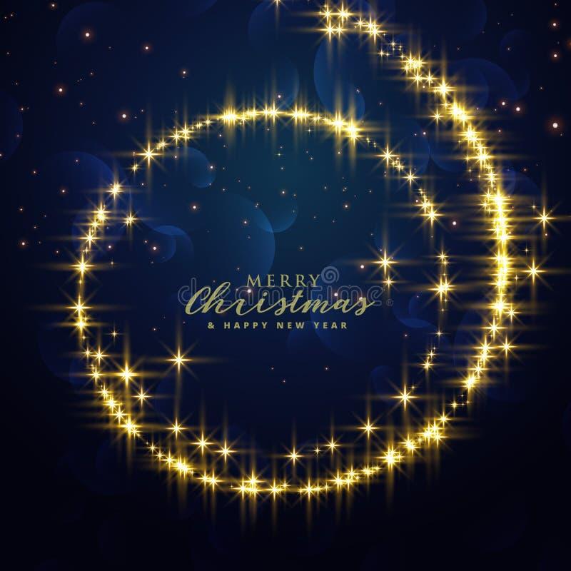 Το όμορφο φεστιβάλ ακτινοβολεί υπόβαθρο στροβίλου για την εποχή Χριστουγέννων ελεύθερη απεικόνιση δικαιώματος