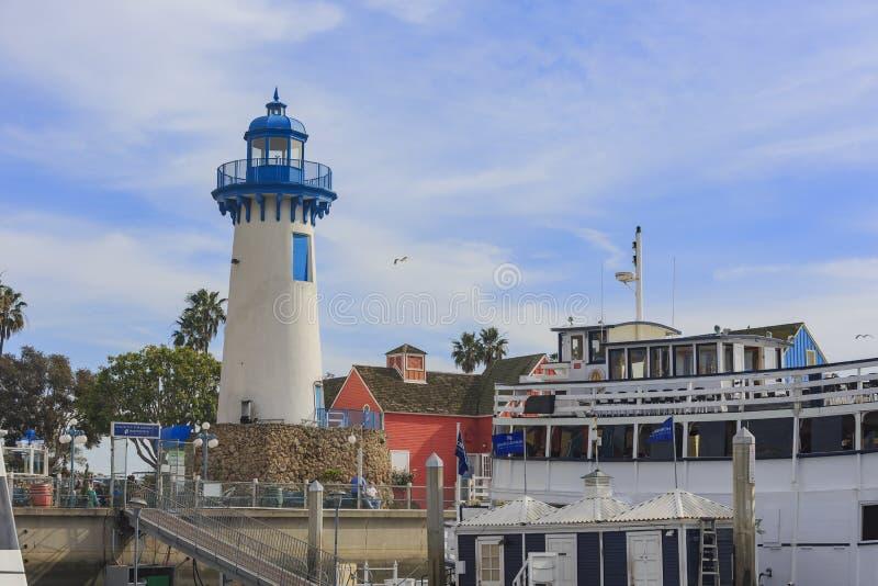 Το όμορφο Marina Del Rey λιμάνι στοκ φωτογραφίες