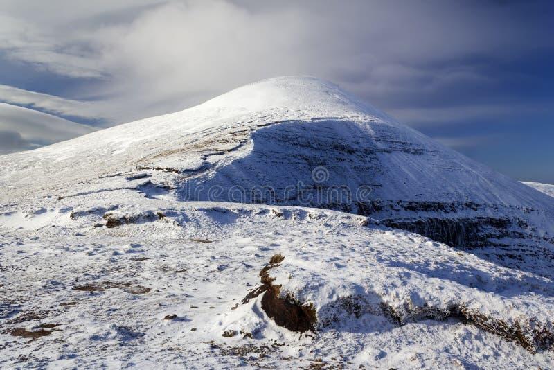 Το Όρος Γκάλτμορ είναι το ψηλότερο από τα Όρη Γκαλέτ στοκ φωτογραφία με δικαίωμα ελεύθερης χρήσης