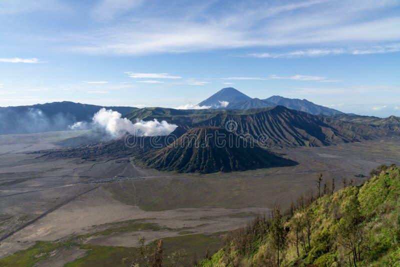 Το όρος Bromo Tengger Semeru βρίσκεται στο Malang Lumajang Pasuruan Probolinggo East Java Indonesia στοκ φωτογραφία