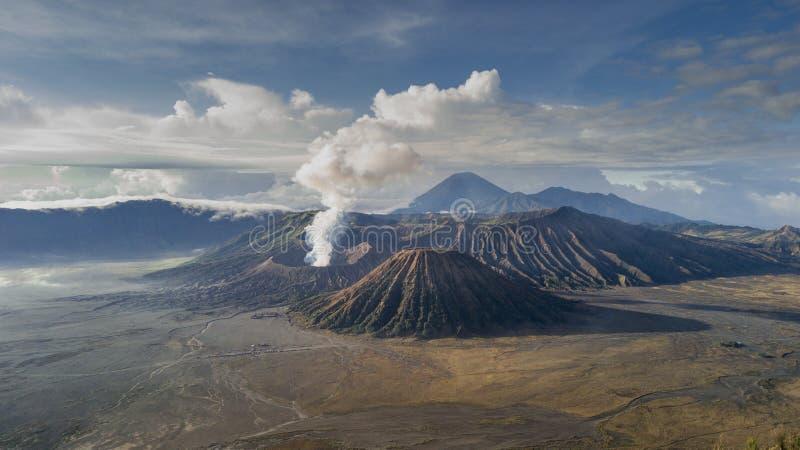Το όρος Bromo Tengger Semeru βρίσκεται στο Malang Lumajang Pasuruan Probolinggo East Java Indonesia στοκ φωτογραφία με δικαίωμα ελεύθερης χρήσης