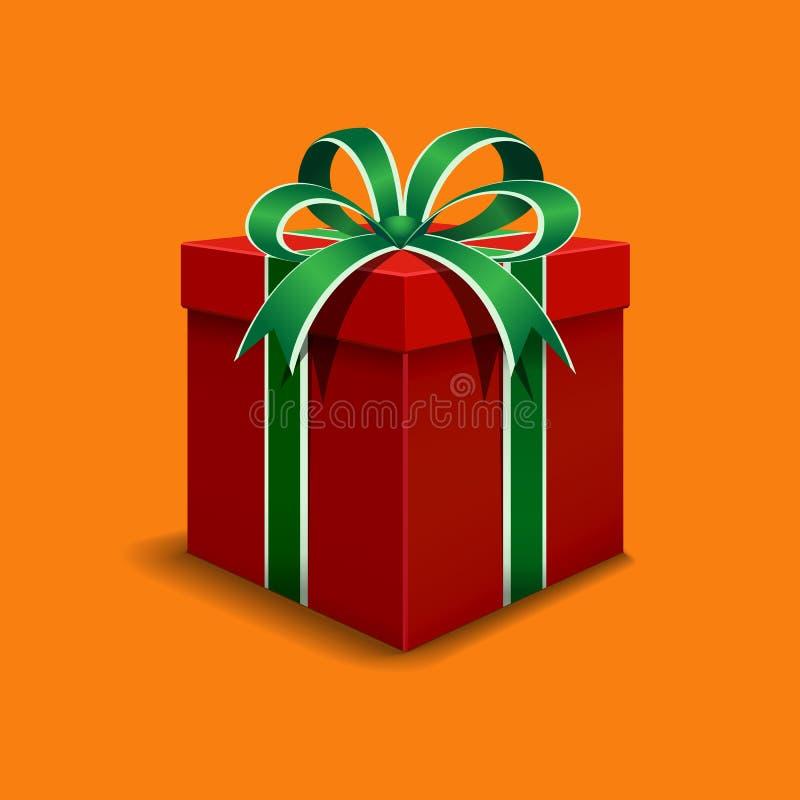 το δώρο κιβωτίων απομόνωσε το λευκό απεικόνιση αποθεμάτων
