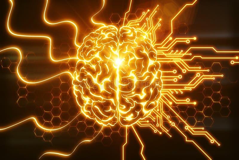 Το AI και καινοτομεί έννοια απεικόνιση αποθεμάτων