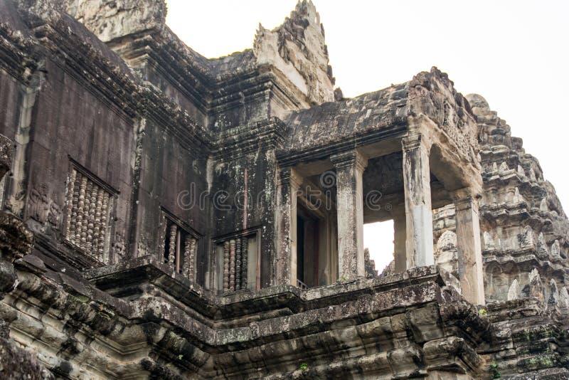 Το Angkor Wat είναι ένας ναός σύνθετος στην Καμπότζη και το μεγαλύτερο θρησκευτικό μνημείο στον κόσμο η Καμπότζη συγκεντρώνει sie στοκ φωτογραφίες