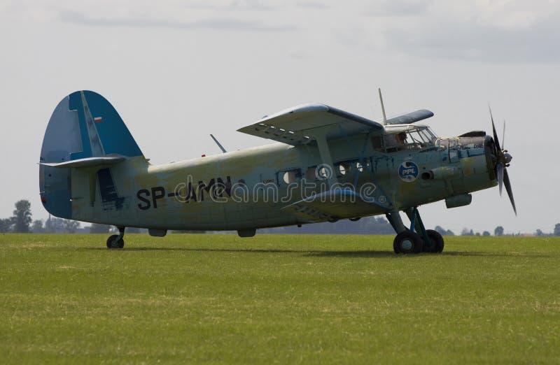 Το Antonov ένας-2 στοκ φωτογραφία με δικαίωμα ελεύθερης χρήσης