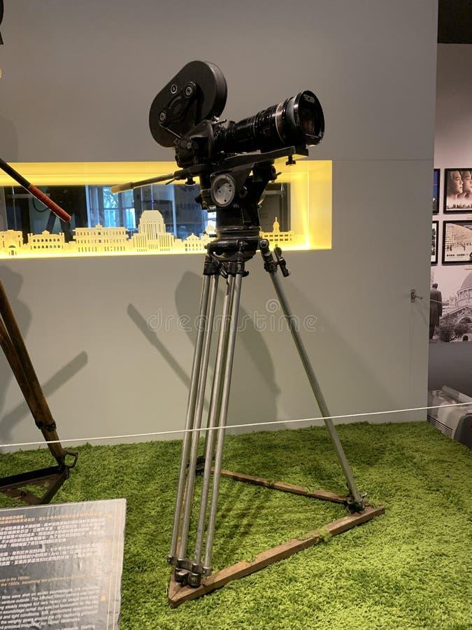 Το Arri IIC κάμερα in 1960 35mm στοκ φωτογραφία
