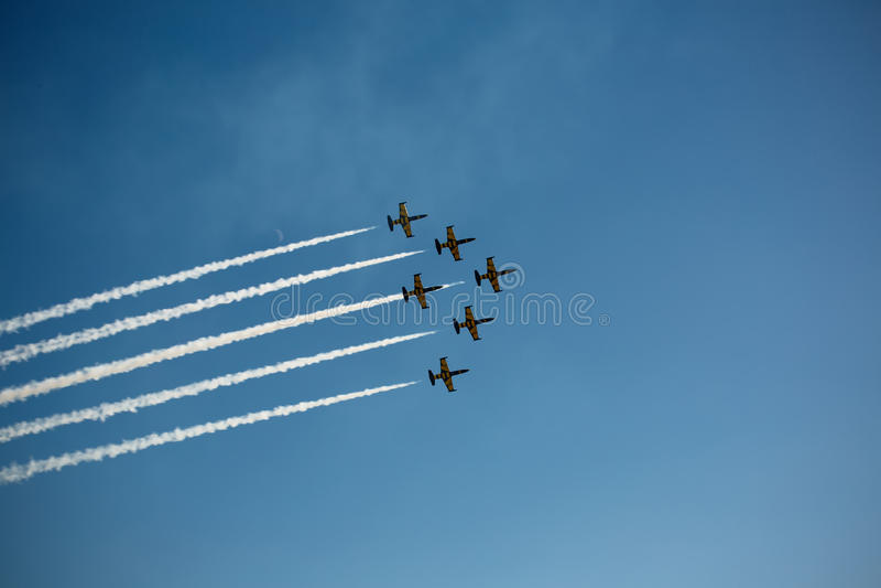 Το Avia παρουσιάζει στοκ φωτογραφία με δικαίωμα ελεύθερης χρήσης