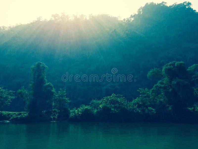 Το BA είναι φύση λιμνών στοκ εικόνες με δικαίωμα ελεύθερης χρήσης