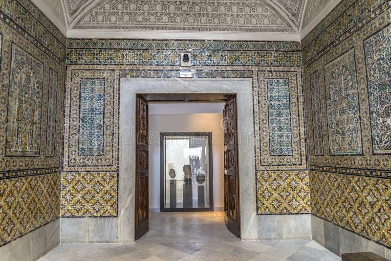 Το Bardo Τυνησία στοκ φωτογραφίες