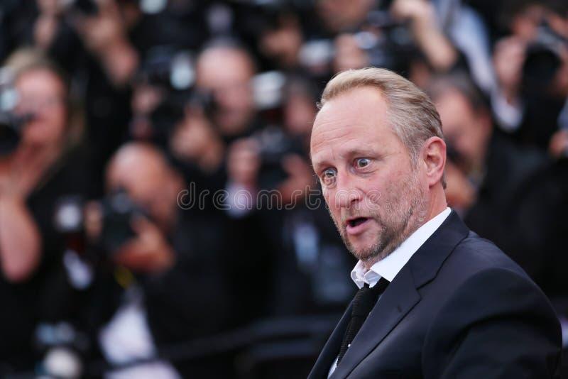 Το Benoit Poelvoorde παρευρίσκεται στη διαλογή στοκ φωτογραφίες